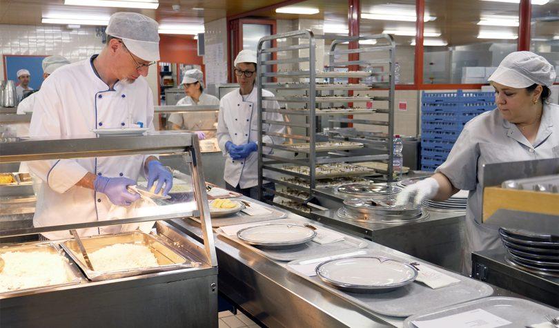 Cuisine Hôpital de Sion